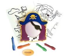 Набор для рисования в ванне Edushape «Пират»
