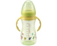 Бутылочка Happy baby «Drink up» с силиконовой соской с рождения 240 мл