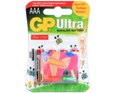 Элемент питания GP Ultra ААА с магнитом 4 шт