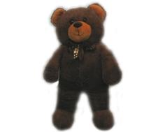 Мягкая игрушка СмолТойс «Медведь» 65 см коричневая
