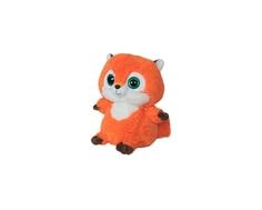 Мягкая игрушка СмолТойс «Лисичка» 30 см оранжевая
