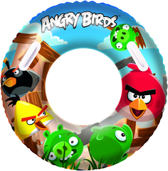 Надувной круг Bestway «Angry Birds» 91 см