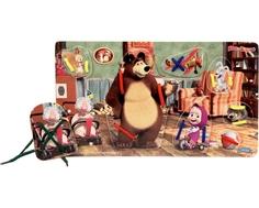 Игра-шнуровка Затейники «Маша и Медведь: У Мишки дома»
