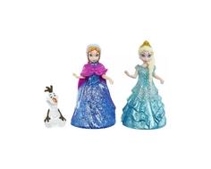 Кукла Disney Princess «Анна и Эльза в наборе с Олафом»
