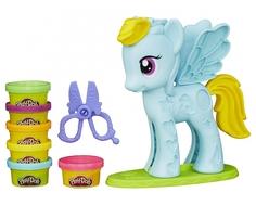 Игровой набор Play-Doh «Стильный салон Рэйнбоу Дэш» с пластилином