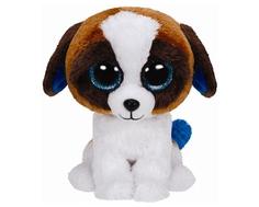 Мягкая игрушка TY Beanie Boos «Щенок Duke» 15 см