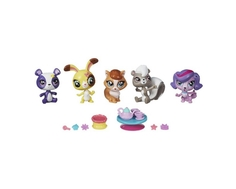 Игровой набор Littlest Pet Shop «Пет Шоп» с 5 зверюшками и аксессуарами в ассортименте