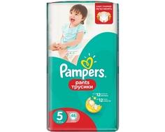 Трусики-подгузники Pampers Pants 5 (12-18 кг) 48 шт.