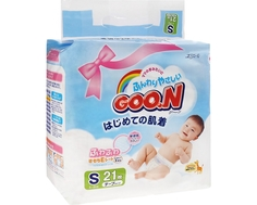 Подгузники Goo.N S (4-8 кг) 21 шт. Goon