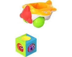 Развивающая игрушка Fisher Price «Машинка с вращающимися кубиками» в ассортименте