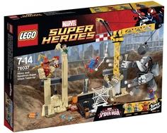 Конструктор LEGO Super Heroes 76037 Носорог и Песочный человек против Супергероев