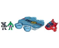 Игровой набор Playskool «Вертолетоносец Avengers»