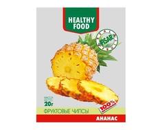 Фруктовые чипсы Fisar Healthy Food «Ананас» 20 г