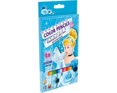 Набор цветных карандашей Disney Princess 18 шт.