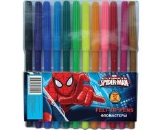Набор цветных фломастеров Spider-Man 12 шт.