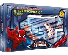 Набор канцелярский Spider-Man в подарочной коробке