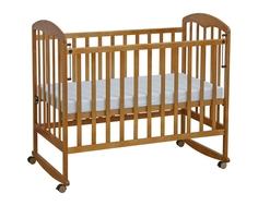 Кроватка Фея 323 натуральный/мед/орех
