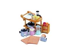 Игровой набор Sylvanian Families «Кухонная посуда» розовый