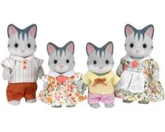 Игровой набор Sylvanian Families «Семья серых Кошек»