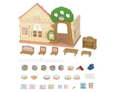 Игровой набор Sylvanian Families «Лесной детский сад» розовый
