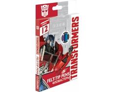 Набор цветных фломастеров Transformers «Prime» 12 шт
