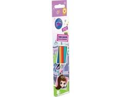 Набор цветных карандашей Littlest Pet Shop 6 шт