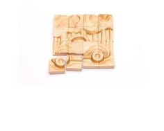 Пазл деревянный Томик «Транспорт» объемный 16 дет.