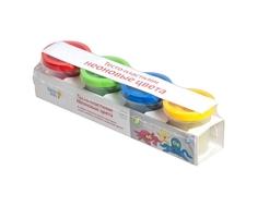 Набор для творчества Genio kids «Тесто-пластилин: Неоновые цвета» 4 цветов