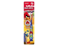 Зубная щетка Longa Vita «Angry Birds» с защитным колпачком c 5 лет