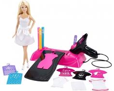 Игровой набор Barbie «Дизайн-студия для создания цветных нарядов с куклой»