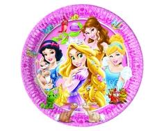 Тарелки одноразовые Procos «Принцессы и животные» 20 см 8 шт.