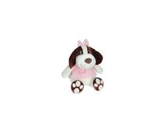 Мягкая игрушка СмолТойс «Собачка Сонечка» 47 см молочная