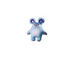 Игрушка-антистресс СмолТойс «Мышонок» 36 см голубая