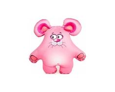 Игрушка-антистресс СмолТойс «Мышонок» 36 см розовая