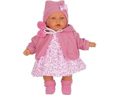 Кукла Munecas Antonio Juan «Азалия» в розовом говорящая 27 см