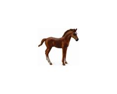 Фигурка Collecta «Жеребец чистокровный каштановый» 10 см