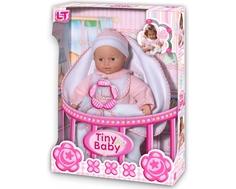 Кукла LokoToys «Tiny Baby» с конвертом для новорожденных 30 см