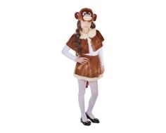 Карнавальный костюм Карнавалия «Обезьянка-девочка»