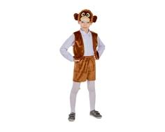Карнавальный костюм «Обезьянка мальчик» Карнавалия