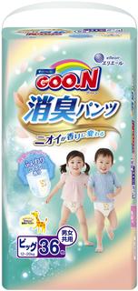 Трусики-подгузники Goo.N Aromagic XL (12-20 кг) 36 шт. Goon