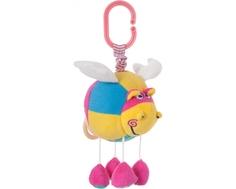 Развивающая мягкая игрушка-подвеска Мир Детства «Сказочный бегемотик»