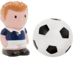Набор игрушек-брызгалок для ванны Курносики «Футбол»