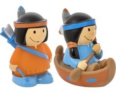 Набор игрушек-брызгалок для ванны Курносики «Индейцы» в ассортименте