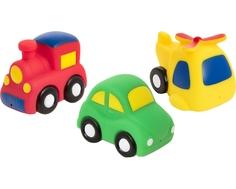 Набор игрушек-брызгалок для ванны Курносики «Транспорт»