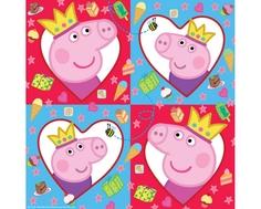 Салфетки Peppa Pig «Свинка Пеппа» 20 шт.