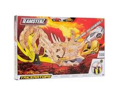 Автотрек двойной HTI «Teamsterz: Динозавр Трицератопс» с 2 машинками