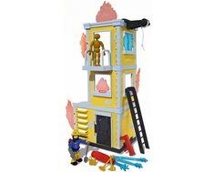 Игровой набор Simba «Пожарный Сэм. Большая тренировочная база» с фигуркой