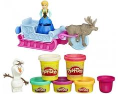 Игровой набор Play-Doh «Приключения холодного сердца»