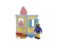 Игровой набор Simba «Пожарный Сэм: Маленькая тренировочная база» с фигуркой