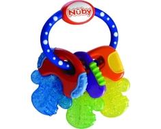 Прорезыватель Nuby «Ключики» с гелем